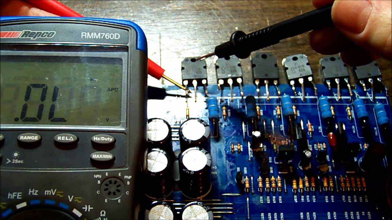 reparation amplificateur